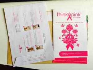 Thnik Pink envelope