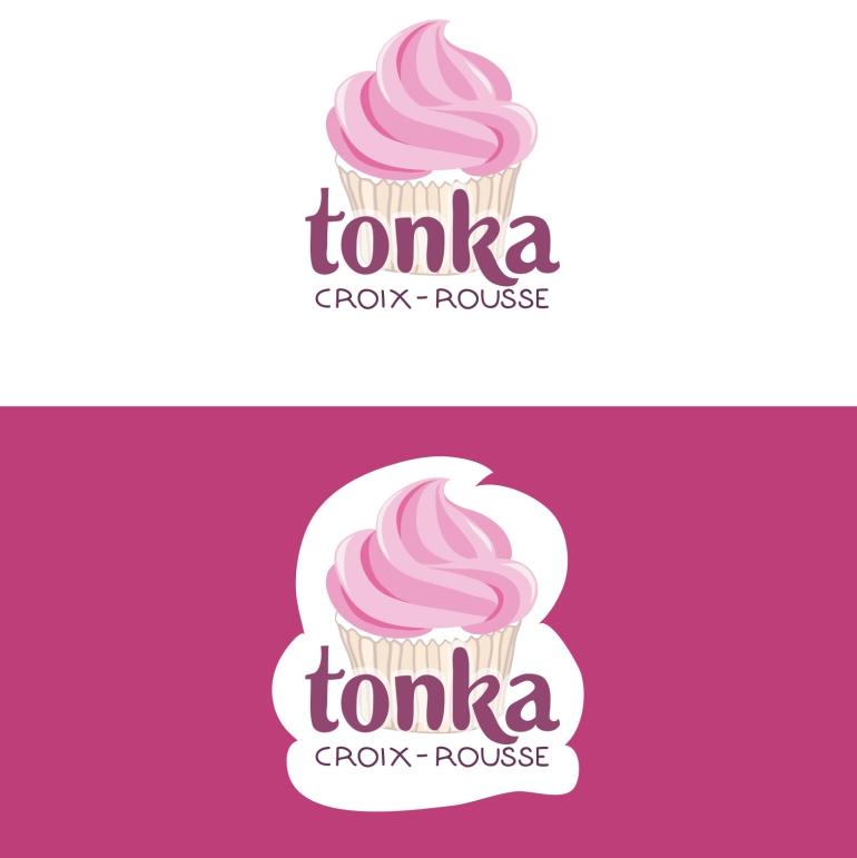 Tonka Logo tea for 2