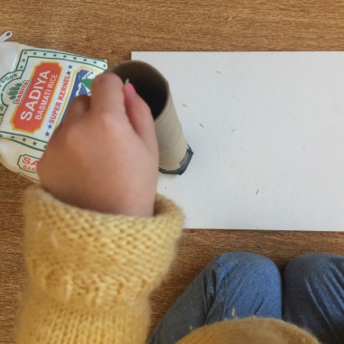 Or use these little hand hands to fill up the tube with rice.