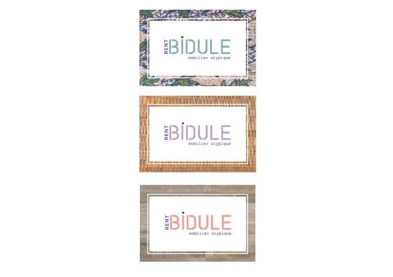 Bidule log on a card
